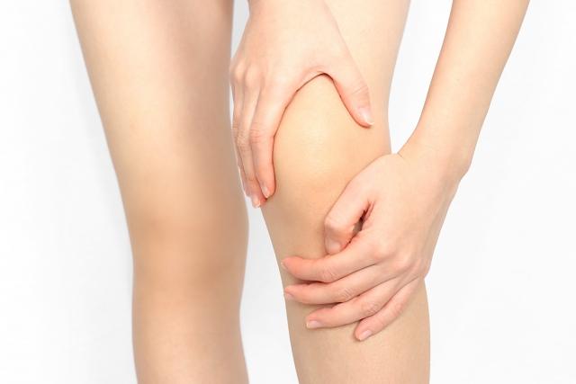 慢性的な左膝の痛み
