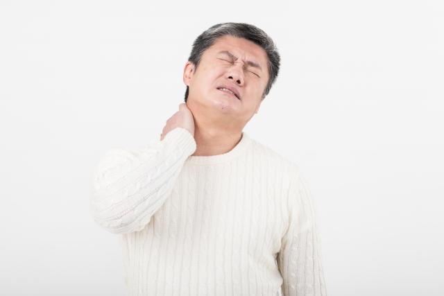 寝違えたような首の痛み